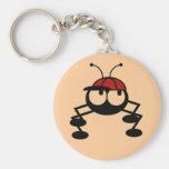 Camisetas y regalos del insecto del béisbol llaveros personalizados