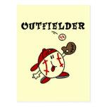 Camisetas y regalos del jardinero del béisbol postal