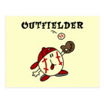 Camisetas y regalos del jardinero del béisbol postales