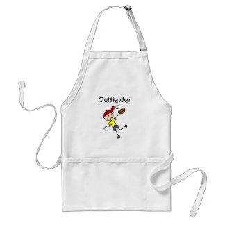 Camisetas y regalos del jardinero del muchacho delantal