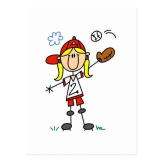 Camisetas y regalos del jugador de béisbol del chi postales
