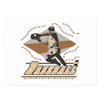 Camisetas y regalos del jugador de béisbol tarjeta postal