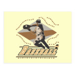 Camisetas y regalos del jugador de béisbol tarjetas postales