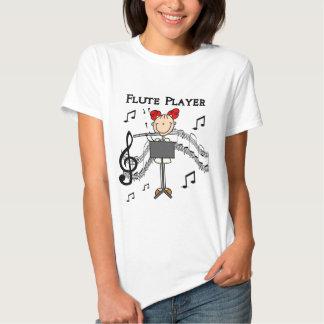 Camisetas y regalos del jugador de flauta remeras