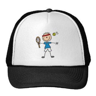 Camisetas y regalos del jugador de tenis del mucha gorros bordados