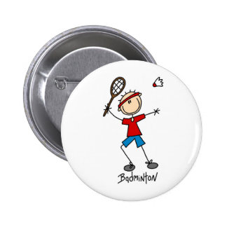 Camisetas y regalos del jugador del bádminton pins