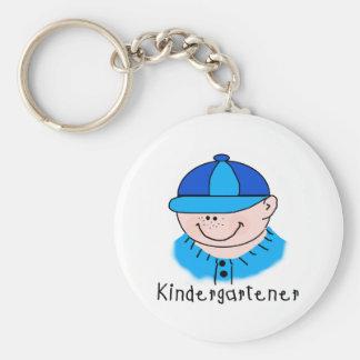 Camisetas y regalos del Kindergartener del muchach Llaveros Personalizados