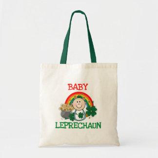 Camisetas y regalos del Leprechaun del bebé Bolsa Tela Barata