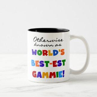 Camisetas y regalos del Mejor-est Gammie del mundo Tazas De Café
