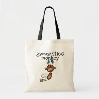 Camisetas y regalos del mono de la gimnasia bolsa tela barata