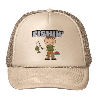 Camisetas y regalos del muchacho de Fishin Gorro