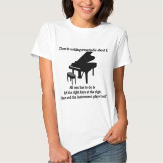 Camisetas y regalos del músico del pianista playeras