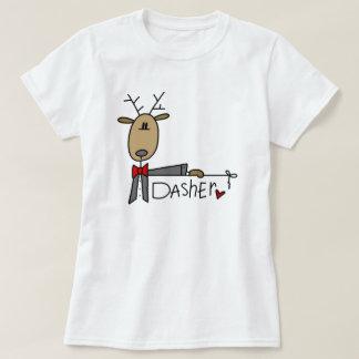 Camisetas y regalos del navidad del reno de Dasher