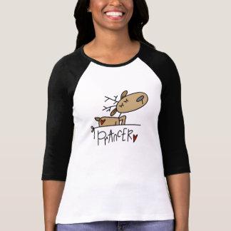 Camisetas y regalos del navidad del reno de playera