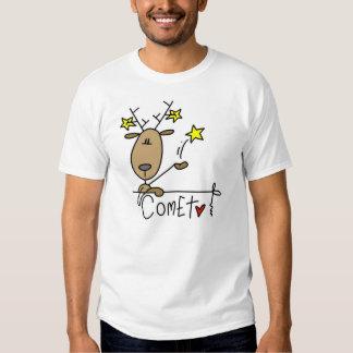 Camisetas y regalos del navidad del reno del camisas