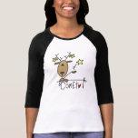 Camisetas y regalos del navidad del reno del playeras