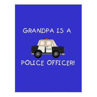 Camisetas y regalos del oficial de policía del postal