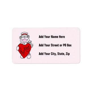 Camisetas y regalos del oficio de enfermera del am etiqueta de dirección
