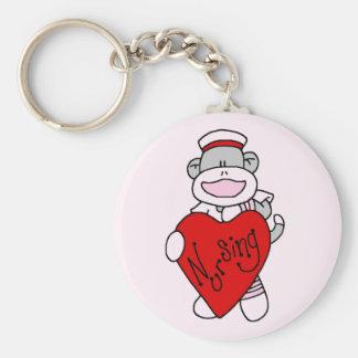 Camisetas y regalos del oficio de enfermera del am llavero redondo tipo pin