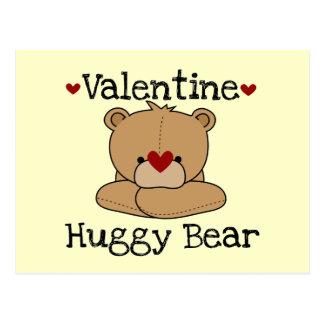 Camisetas y regalos del oso de Huggy de la tarjeta Postales