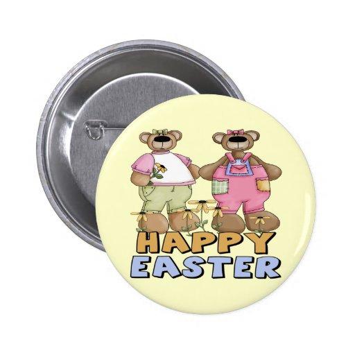 Camisetas y regalos del oso de peluche de Pascua Pin
