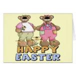 Camisetas y regalos del oso de peluche de Pascua Tarjeton