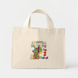 Camisetas y regalos del oso de peluche del feliz c bolsa