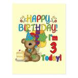 Camisetas y regalos del oso de peluche del feliz c postales