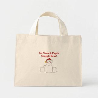 Camisetas y regalos del oso del Snuggle de Nana y  Bolsa Tela Pequeña