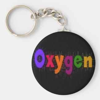 """Camisetas y regalos del """"oxígeno"""" del terapeuta re llaveros personalizados"""