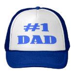 Camisetas y regalos del papá del número uno gorro