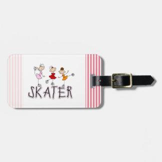Camisetas y regalos del patinador etiquetas bolsas