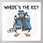 Camisetas y regalos del patinaje de hielo del ping impresiones