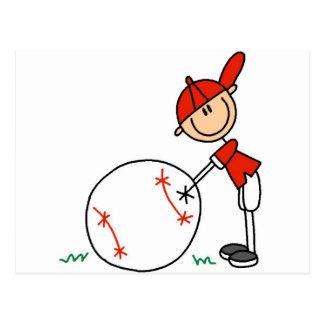 Camisetas y regalos del personalizar del béisbol postales