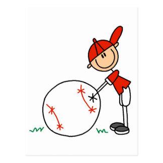 Camisetas y regalos del personalizar del béisbol postal