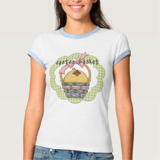 Camisetas y regalos del polluelo de Pascua Playeras
