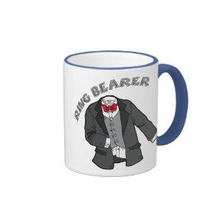 Camisetas y regalos del portador de anillo taza de café