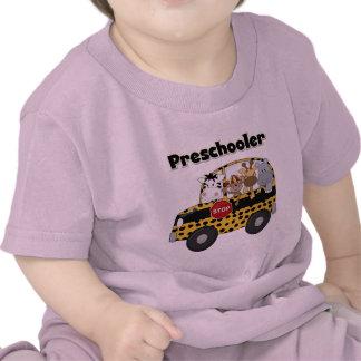 Camisetas y regalos del Preschooler del autobús