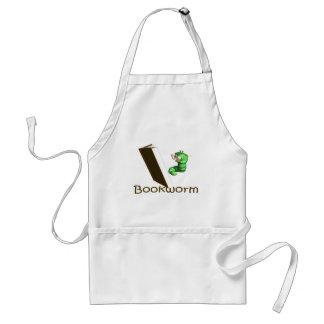 Camisetas y regalos del ratón de biblioteca delantal