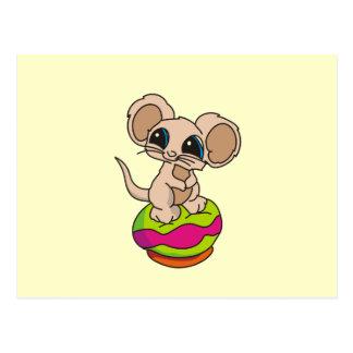 Camisetas y regalos del ratón de la pipa tarjetas postales