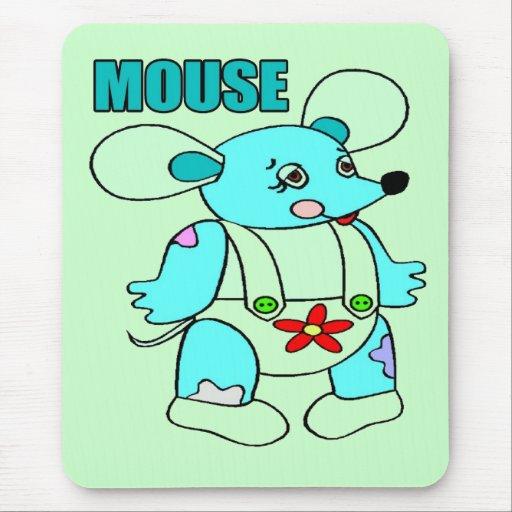 Camisetas y regalos del ratón de los niños tapetes de ratón