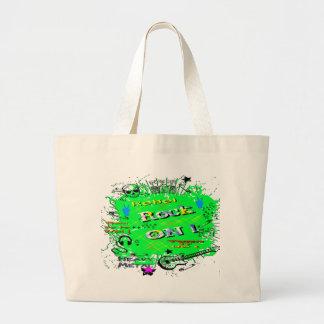 Camisetas y regalos del rebelde del rollo del n de bolsa