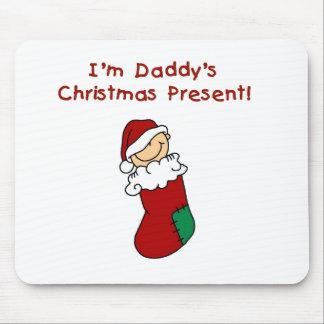 Camisetas y regalos del regalo de Navidad del papá Tapete De Ratón