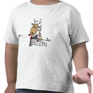 Camisetas y regalos del reno de Blitzen