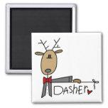 Camisetas y regalos del reno de Dasher Iman Para Frigorífico