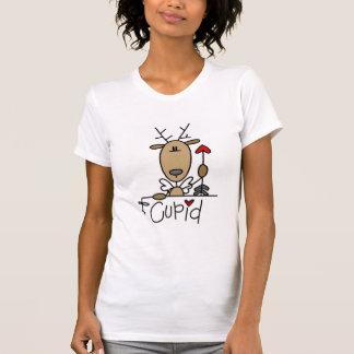 Camisetas y regalos del reno del Cupid Playeras