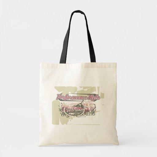 Camisetas y regalos del salto del funcionamiento bolsas de mano