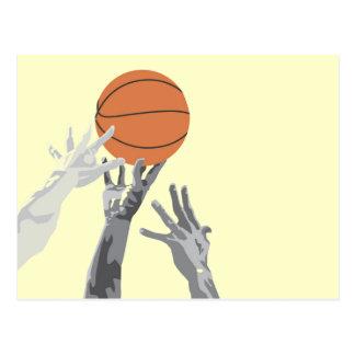 Camisetas y regalos del soplo del baloncesto tarjetas postales