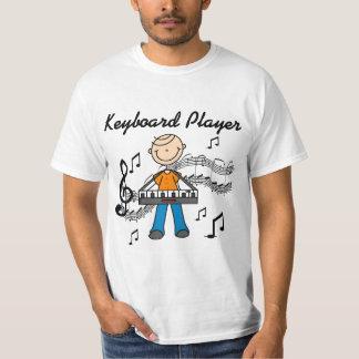 Camisetas y regalos del teclista playeras