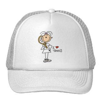 Camisetas y regalos del tenis del amor del chica I Gorro